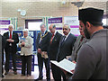 SP9212 : Reading from the Koran at the Peace Exhibition in Tring by Chris Reynolds