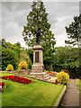 SD7441 : Clitheroe War Memorial and Garden of Remembrance, Castle Hill by David Dixon
