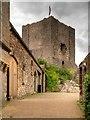 SD7441 : Clitheroe Castle Keep by David Dixon