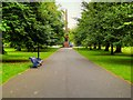 SJ3788 : Sefton Park, Path to the Samuel Smith Obelisk by David Dixon