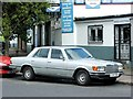 TQ3673 : Vintage 1980 Mercedes 280, Brockley Rise, Forest Hill by Chris Whippet