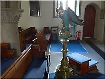 SK2566 : Inside St Katherine, Rowsley (f) by Basher Eyre