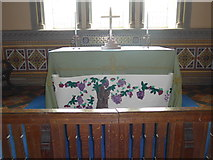 SK2566 : St Katherine, Rowsley: altar by Basher Eyre