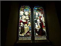 SK2071 : St Giles, Great Longstone: stained glass window (1) by Basher Eyre