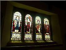 SK2071 : St Giles, Great Longstone: stained glass window (5) by Basher Eyre