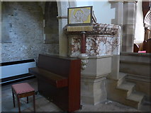 SK2071 : Inside St Giles, Great Longstone  (IV) by Basher Eyre