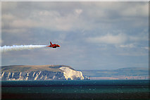 SZ1090 : Bournemouth Air Festival 2015 - approaching Red Arrow by Mike Searle