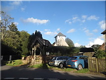 SU5846 : All Saints Church, Dummer by David Howard