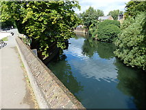 TQ1579 : The River Brent in Hanwell by Mat Fascione