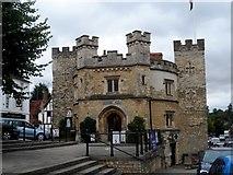 SP6934 : Buckingham Old Gaol by Bikeboy