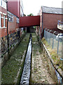 SE3033 : Lady Beck south of Hope Road, Leeds  by Stephen Craven