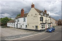 SK8975 : London Road, Saxilby by Dave Hitchborne