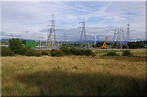 SD4260 : Middleton sub-station under construction by Ian Taylor