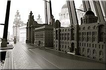 SJ3390 : Liverpool's Three Graces, New Liverpool Museum by Matt Harrop