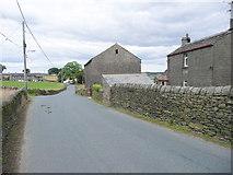 SE0322 : Plain Lane at Lower Plain Farm, Sowerby by Humphrey Bolton