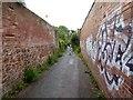 SX9293 : Hoopern Lane, Exeter by David Smith
