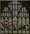 SK5739 : East window, St Peter's church, Nottingham by Julian P Guffogg