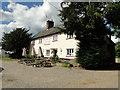 TL7459 : The Fox public house, Ousden by Adrian S Pye