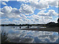 SP9013 : Reflections at Wilstone Reservoir by Chris Reynolds