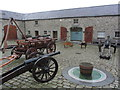 O0475 : Battle of the Boyne Visitor Centre - Display of battle equipment by Colin Park