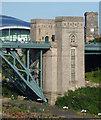 NZ2563 : Detail of New Tyne Bridge, Newcastle by Stephen Richards