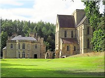 NZ1198 : Manor House & Brinkburn Priory by Andrew Curtis