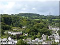 SX4271 : Hills and trees above Gunnislake from Chimney Rock by David Smith