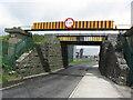 N1274 : Low bridge on N63, Killashee St, SW of Longford by Colin Park