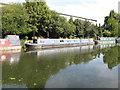 TQ1384 : Talisker, narrowboat on Paddington Branch canal by David Hawgood