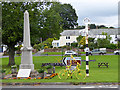 NY5633 : The yellow bikes of Langwathby (2) by Oliver Dixon