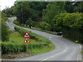 SO4883 : B4368 north-west of Seifton, Shropshire by Roger  Kidd