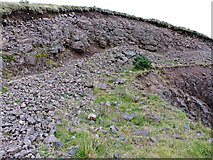 NS2472 : Small quarry on East Hill by Thomas Nugent