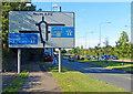 TQ1077 : The A312 near Cranford Park by Mat Fascione