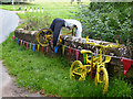 NY6137 : The yellow bikes of Melmerby (7) by Oliver Dixon