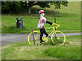 NY6137 : The yellow bikes of Melmerby (9) by Oliver Dixon