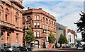 "J3374 : The ""Belfast Telegraph"" buildings, Belfast - August 2015(1) by Albert Bridge"