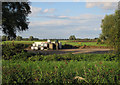 TL5366 : Turf field by Lythel's Farm by Hugh Venables