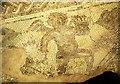 SP0513 : Mosaic, Chedworth Roman Villa by Derek Harper