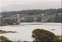 SH5571 : Menai Suspension Bridge by Richard Sutcliffe