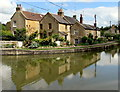ST8059 : Reflections on the canal, Avoncliff by Jaggery