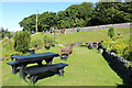 NS8712 : Picnic Area, Wanlockhead by Billy McCrorie