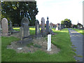 SE2534 : Armley Hill Top Cemetery (4): war grave by Stephen Craven