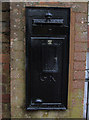 SO8071 : Disused George V wall-mounted letterbox, Lickhill Road, Stourport-on-Severn by P L Chadwick