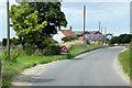 TF9934 : Thursford, Un-named Road by David Dixon