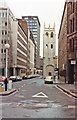 TQ3281 : Sunday in City of London, 1983: Wood Street by Ben Brooksbank