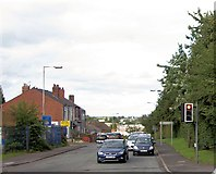 SO9394 : Shaw Road junction from Birmingham New Road by John Firth