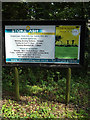 TM1171 : Stoke Ash Baptist Church sign by Adrian Cable