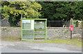 NX8090 : Bus Shelter & Post Box, Kirkland by Billy McCrorie