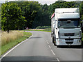 TG0136 : HGV on the A148 near Bale by David Dixon