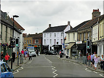 TG0738 : Holt High Street by David Dixon